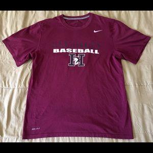 Nike Hamilton Huskies Dri-Fit T-Shirt Men Sz Large